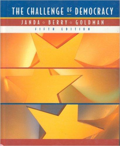 9780395833933: The Challenge of Democracy