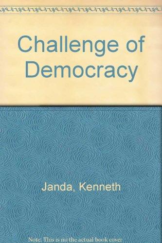 9780395834107: Challenge of Democracy