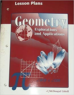 9780395836019: Geometry Explorations and Applications Lesson Plans