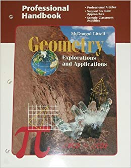 9780395836026: Geometry: Explorations and Applications (Professional Handbook For Teachers)