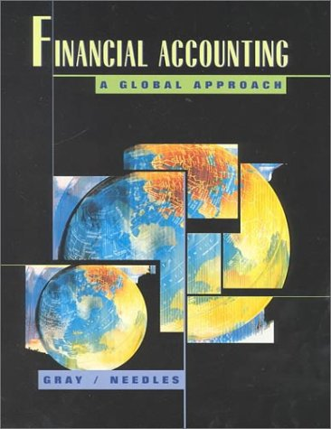 9780395839867: Financial Accounting: A Global Approach