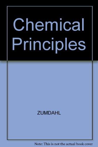 9780395839973: Chemical Principles