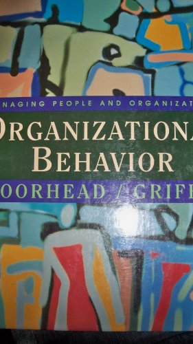Organizational Behavior: Managing People and Organizations, 5th: Moorehead, Gregory; Griffin, Ricky...