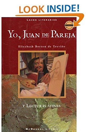 9780395843758: McDougal Littell Literature Connections: Yo, Juan de Pareja (I, Juan de Pareja) Student Editon Grade 7