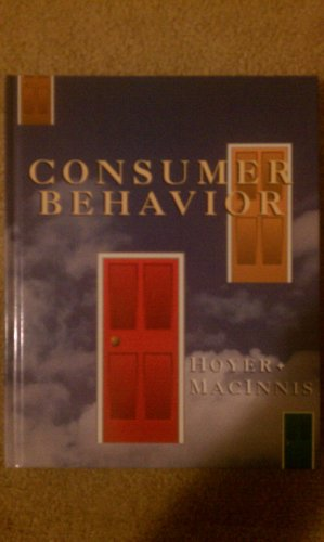 9780395843857: Consumer behavior