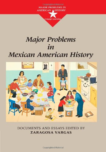 9780395845554: Major Problems in Mexican American History (Major Problems in American History Series)