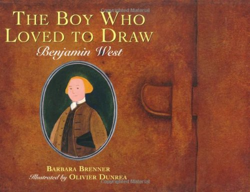 9780395850800: The Boy Who Loved to Draw: Benjamin West