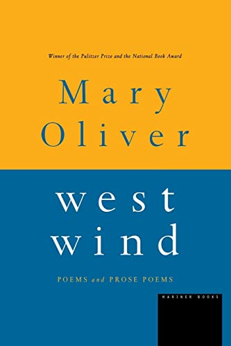 9780395850855: West Wind: Poems and Prose Poems