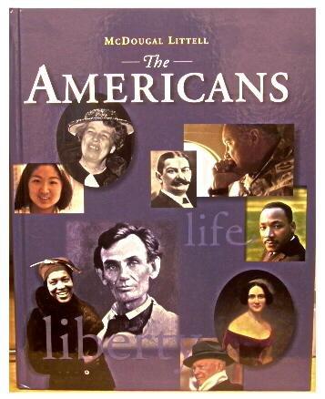 9780395851821: Americans (9-12) Pe 98