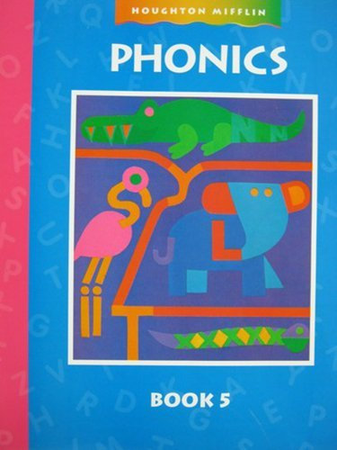 9780395852484: Houghton Mifflin Invitations to Literature: Phonics Workbook Level 5 Imp