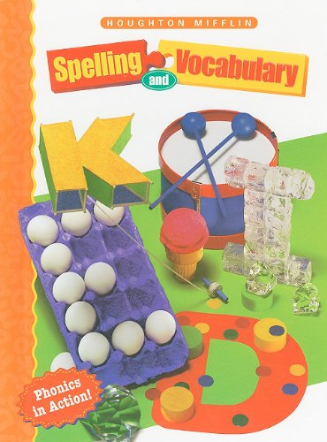 9780395855218: Spelling and Vocabulary