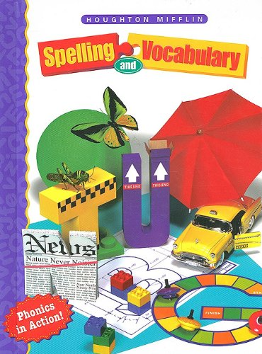 Houghton Mifflin Spelling: Hardcover Student Edition Level 3 1998: HOUGHTON MIFFLIN