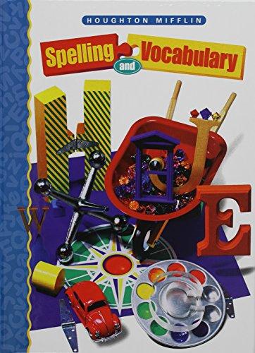 9780395855232: Houghton Mifflin Spelling: Hardcover Student Edition Level 4 1998