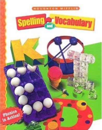 9780395855263: Houghton Mifflin Spelling and Vocabulary, Level 2