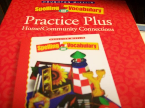 9780395855461: Spelling And Vocabulary 6 Practice Plus