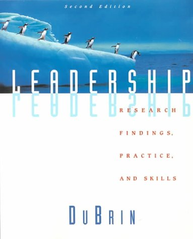 9780395856642: Leadership: Research Findings, Practice, and Skills