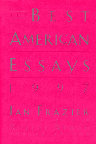 9780395856949: The Best American Essays 1997