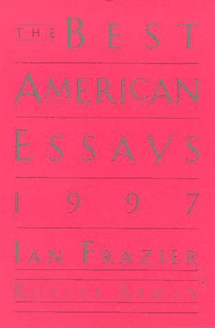 9780395856956: The Best American Essays: 97