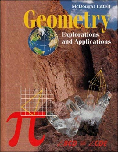9780395857199: Geometry Explorations and Applications, Teacher's Edition