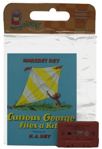 9780395857595: Curious George Flies a Kite Book & Cassette