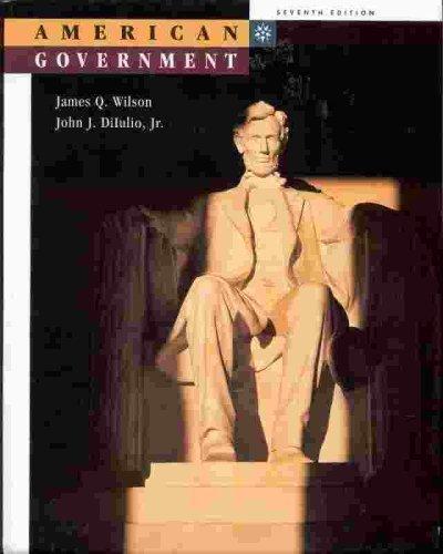 9780395857632: American Government
