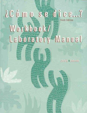 9780395857946: Como Se Dice Workbook Lab Manual