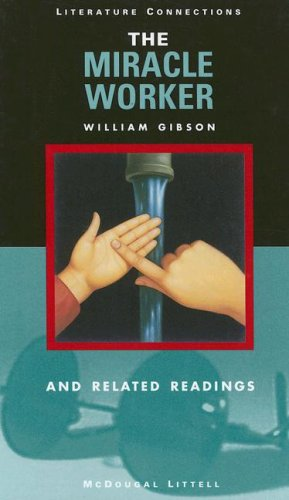 9780395858035: Holt McDougal Library, High School with Connections: Individual Reader The Miracle Worker 1997
