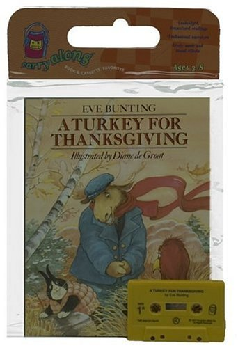 9780395858127: A Turkey for Thanksgiving Book & Cassette