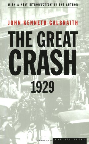 9780395859995: The Great Crash of 1929