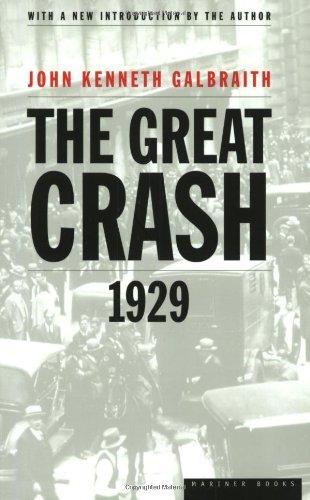 9780395859995: The Great Crash 1929