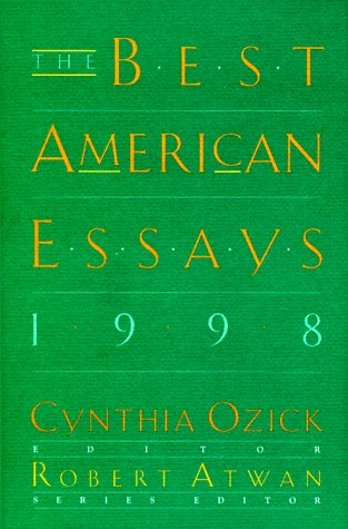 9780395860519: The Best American Essays 1998