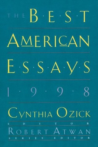 9780395860526: The Best American Essays: 1998