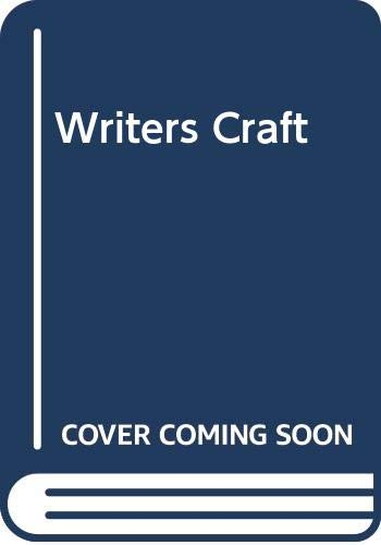 9780395863824: Writers Craft