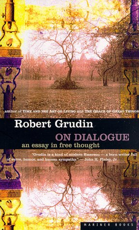 9780395864951: On Dialogue: An Essay in Free Thought