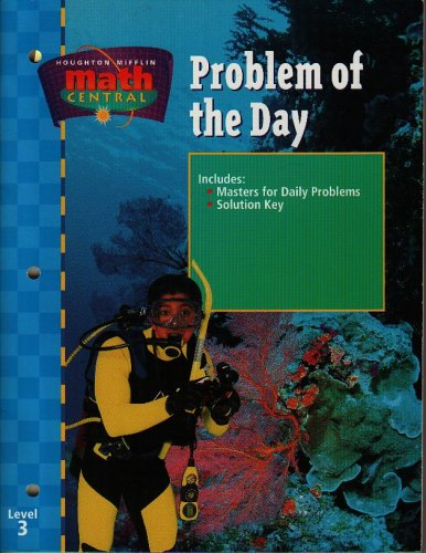 9780395865910: Math Central, Grade 3 Problem of the Day: Houghton Mifflin Math Central (Math Central 1998)