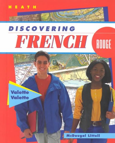 9780395866672: McDougal Littell Discovering French Nouveau: Student Edition Level 3 1998