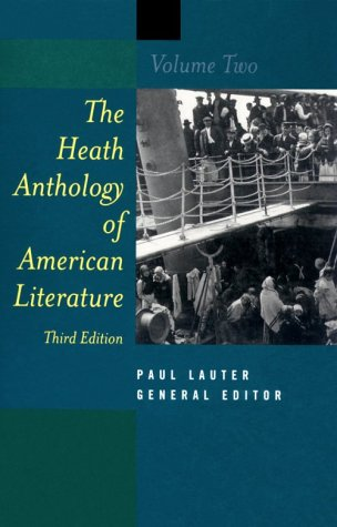 The Heath Anthology of American Literature: N/A