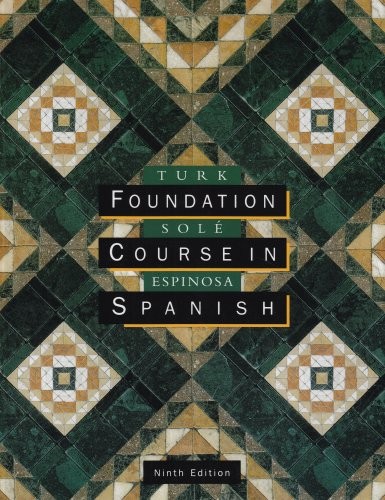 9780395868676: Foundation Course in Spanish