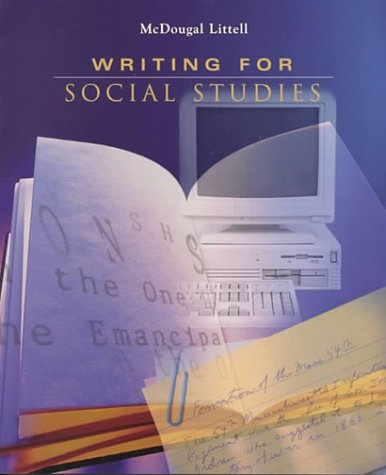9780395869093: The Americans: Writing for Social Studies