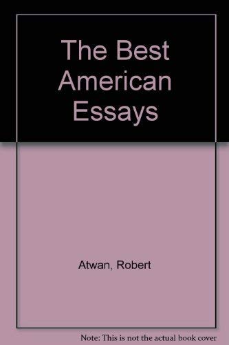 9780395870907: The Best American Essays