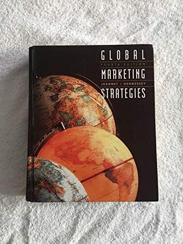 Global Marketing Strategies: Jeannet, Jean-pierre &