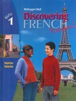 9780395874820: Discovering French, Nouveau!: Student Edition Level 1 2004 (English and French Edition)