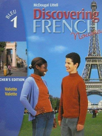 9780395874837: DISCOVERING FRENCH Nouveau: Bleu 1 - Teacher's Edition 2004