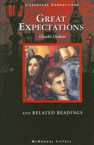 9780395874844: McDougal Littell Literature Connections: Great Expectations Student Editon Grade 10