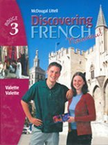 Discovering French Nouveau!: Rouge 3 (McDougal Littell Discovering French: Rouge 3) (French Edition...