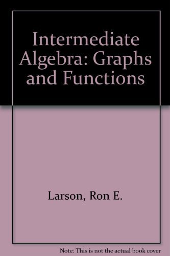 9780395876152: Intermediate Algebra: Graphs and Functions