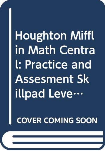 9780395876589: Houghton Mifflin Math Central: Practice and Assesment Skillpad Level 2