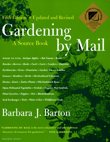 9780395877708: Gardening By Mail: A Source Book, Fifth Edition
