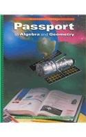 9780395879887: McDougal Littell Passport to Algebra and Geometry