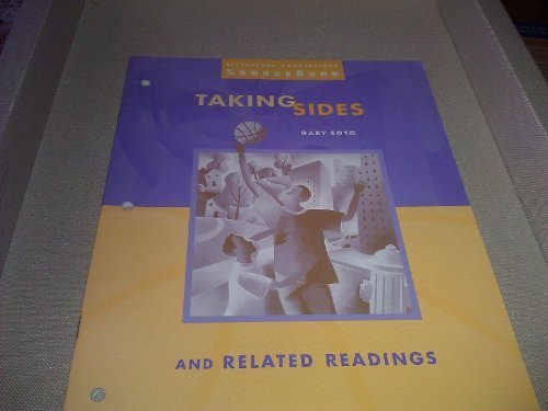 9780395881415: McDougal Littell Literature Connections: Taking Sides SourceBook Grade 8